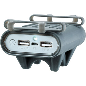 Topeak Smartphone Holder - with Powerpack gris